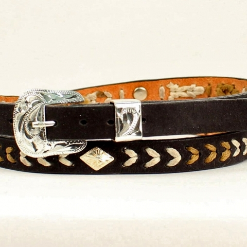 Western Leather Hatband