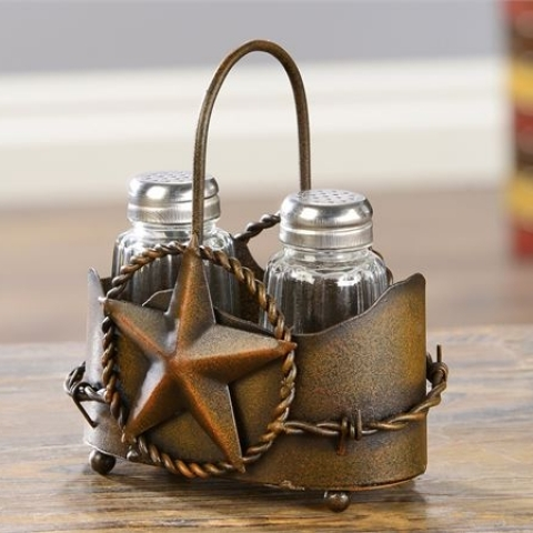 Western Salt & Pepper Shaker