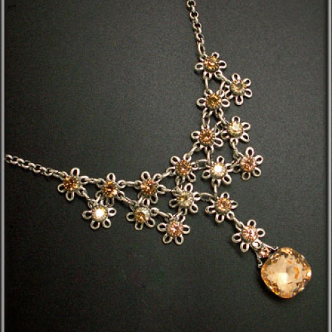 Bouquet Of Joy Necklace