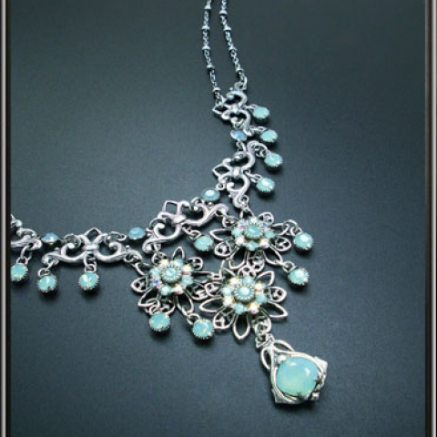 Aqua Treasures Necklace