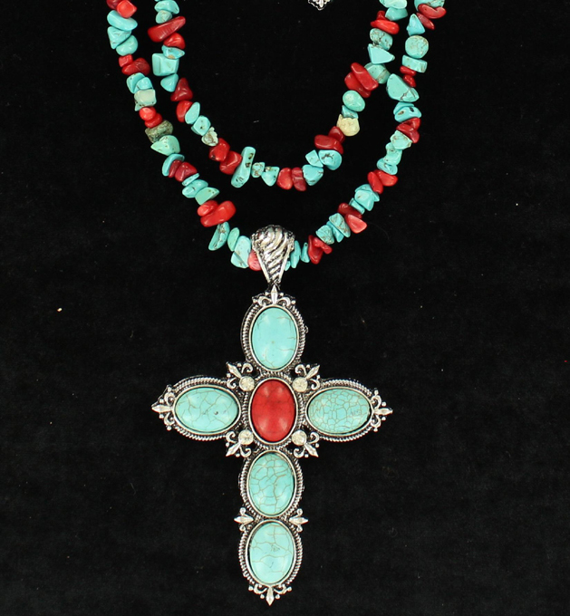 WESTERN CROSS NECKLACE