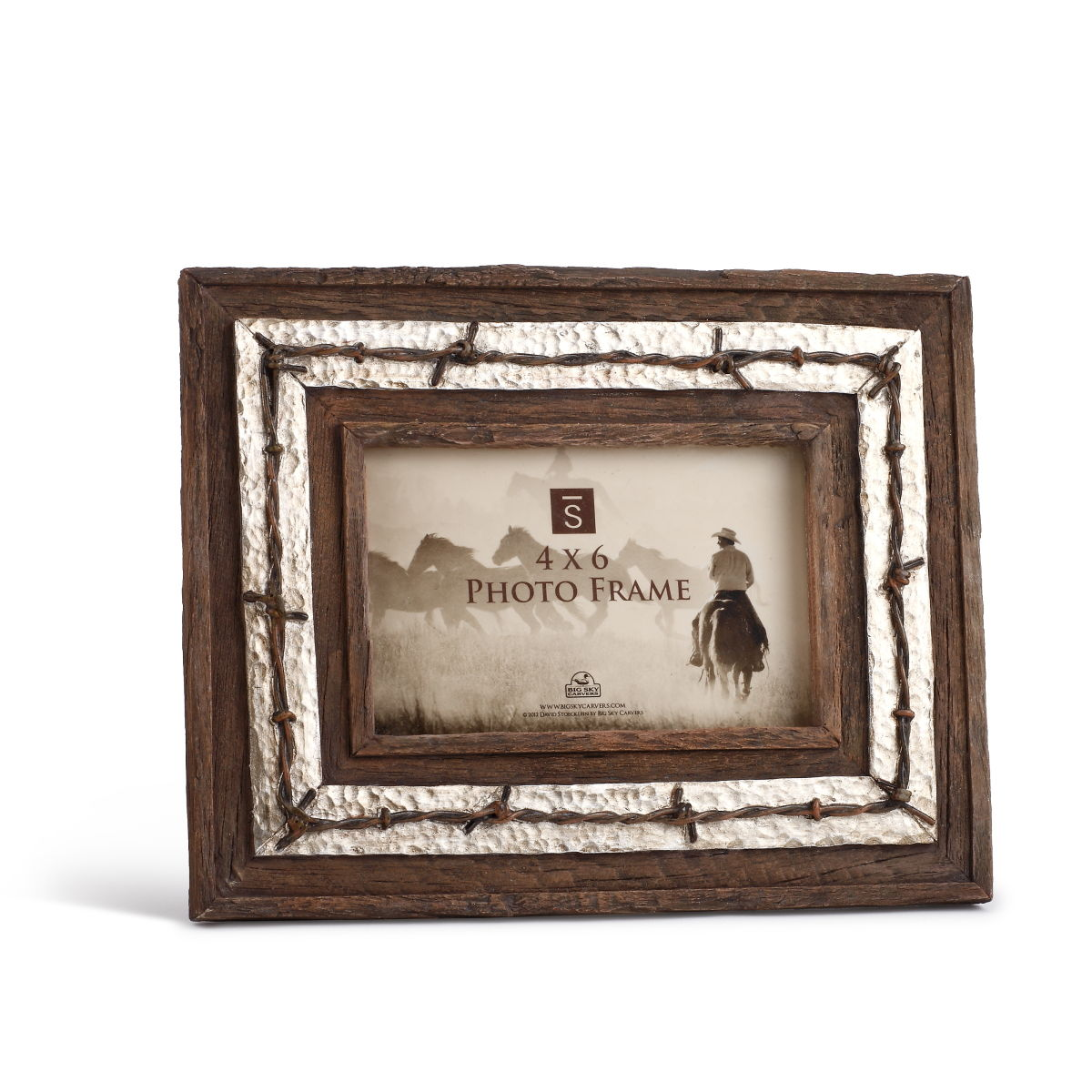 Western Style Picture Frame - Cattle Kate