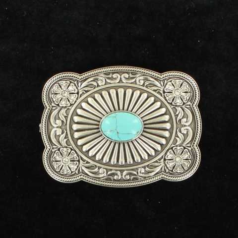 Ladies Turquoise Buckle