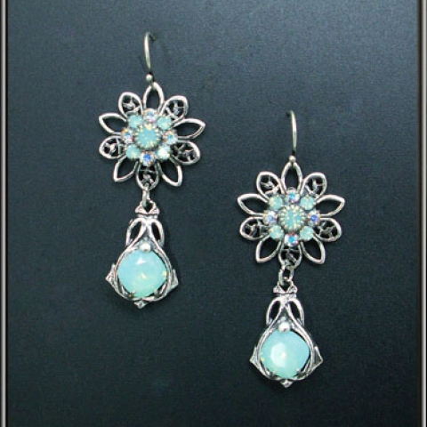 Aqua Treasures Earrings