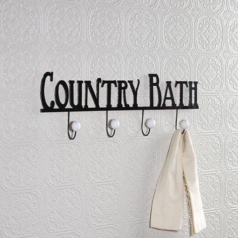 Country Bath Hooks