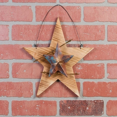 Barbed Wire Barn Star