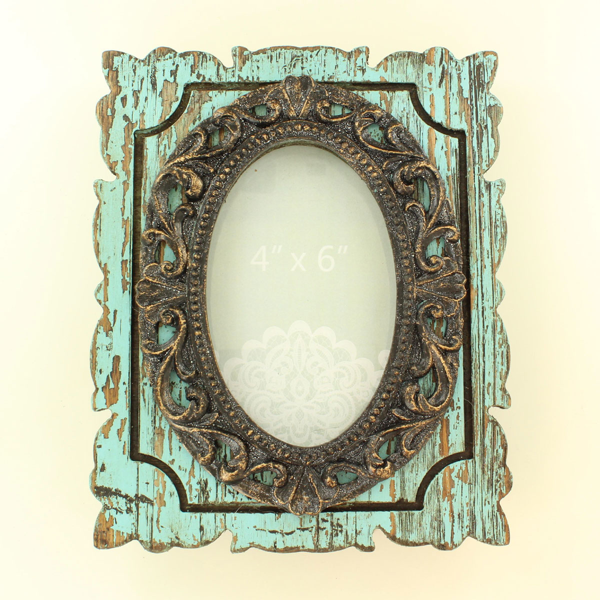 Western Distressed Picture Frame
