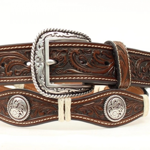 Scalloped Western Belt