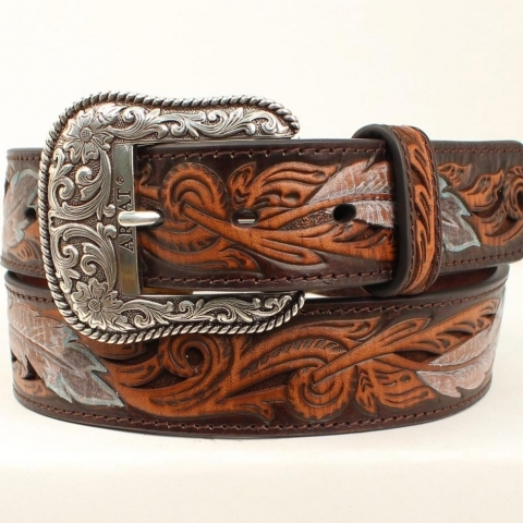 MENS FEATHER BELT