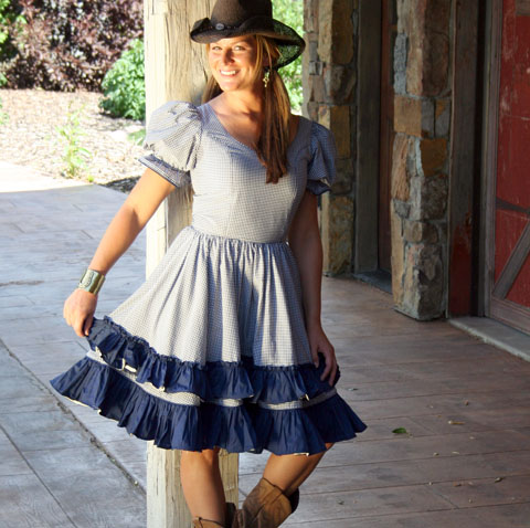 Western Dress- Barn Dancer