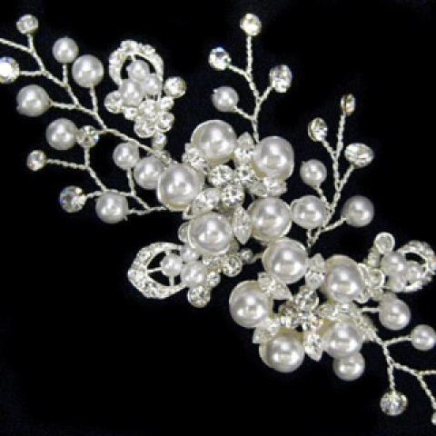 Pretty Pearl Branches Brooch