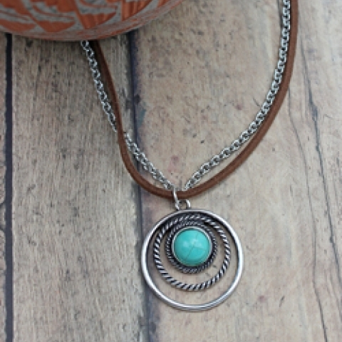 Ladies Turquoise Necklace