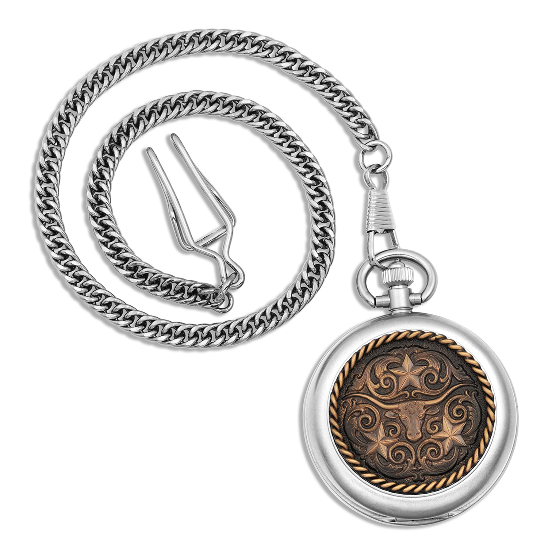 Men' western Pocket watch