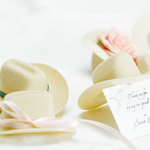 Cowboy Hat Favors