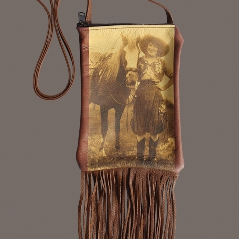 FRINGE COWGIRL PURSE