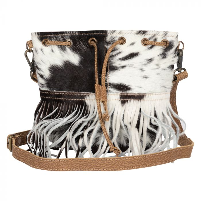 FRINGE HIDE PURSE