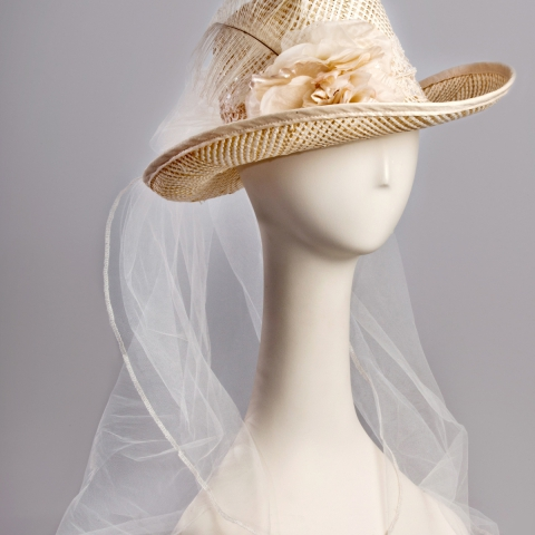 Western Wedding Hat