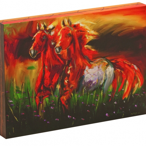 Canvas Art - Horse