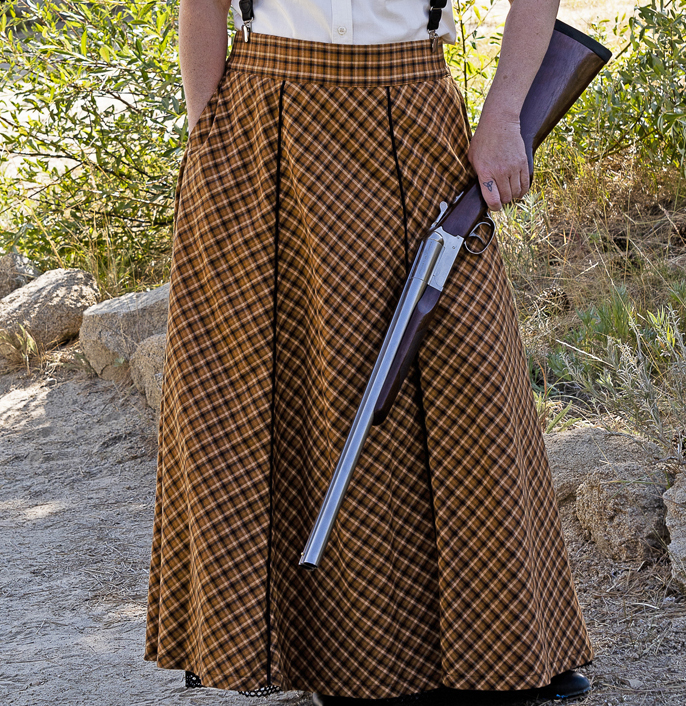 Long Old West Style Skirt