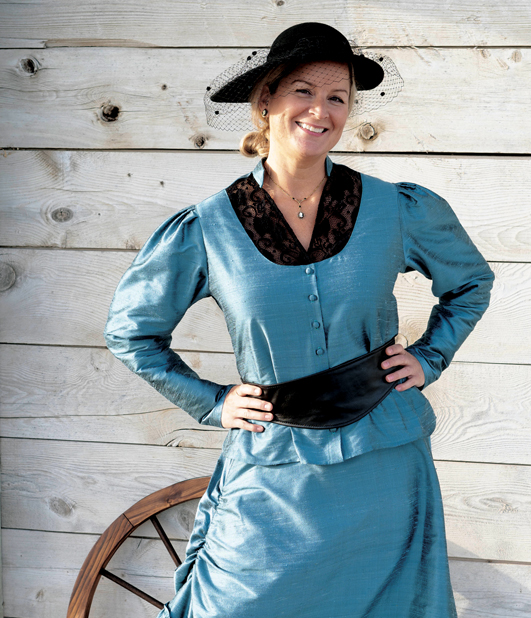 WESTERN SALOON DRESS
