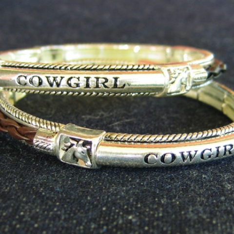Cowgirl Leatherette Bracelet