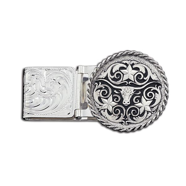 Longhorn Money Clip