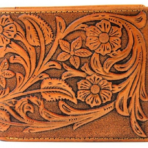 Hand Tooled Wallet