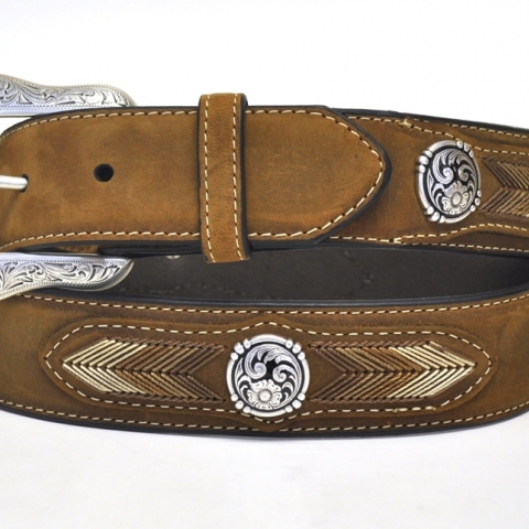 Mahan Men's Western Belt