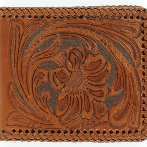 Men's Hand Tooled Wallet