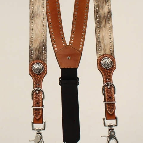 Nocona Calf Hair Suspenders