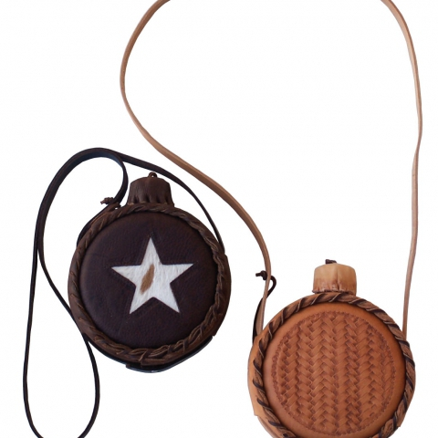 Basket Weave and Star Canteen
