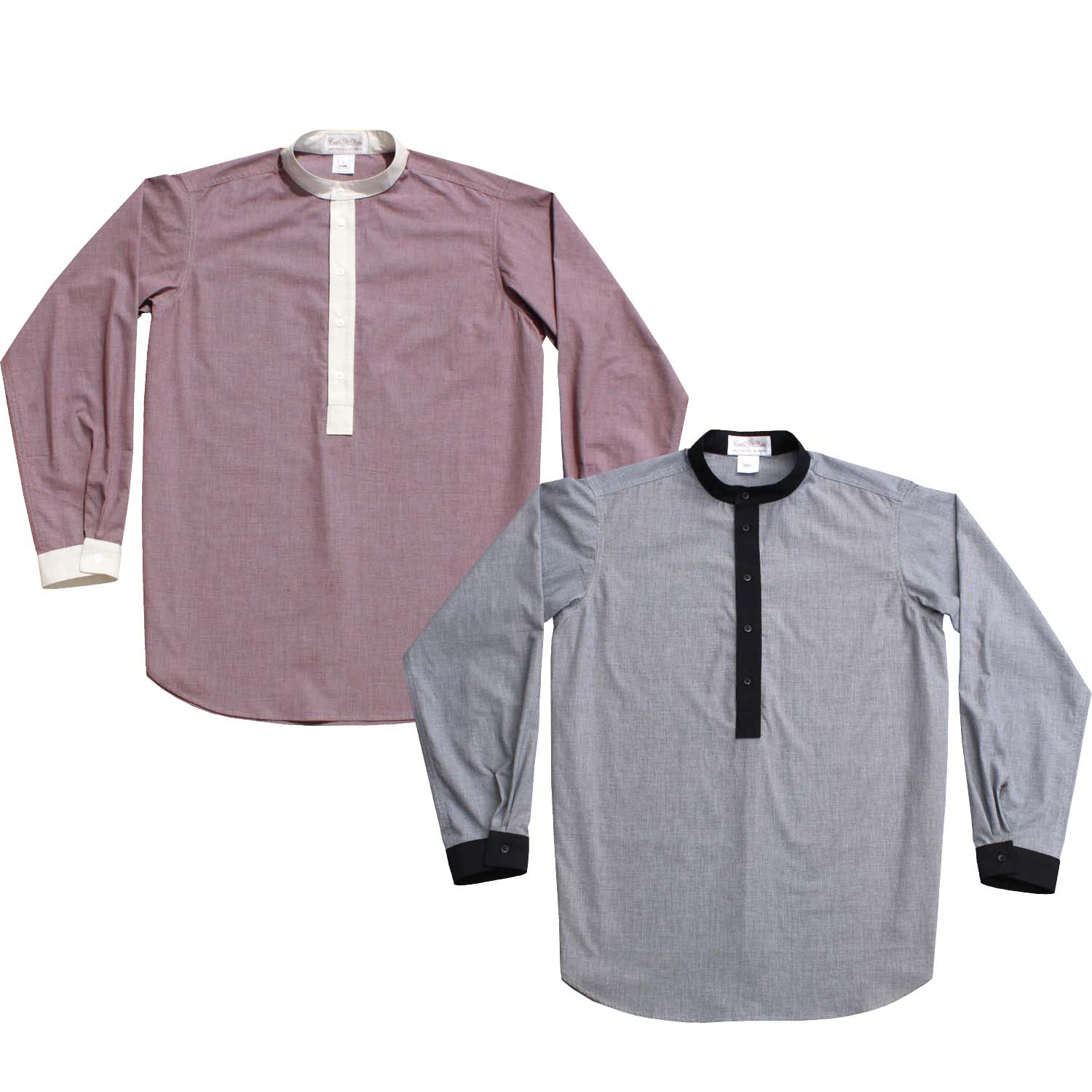 Western Pullover Placket Shirt