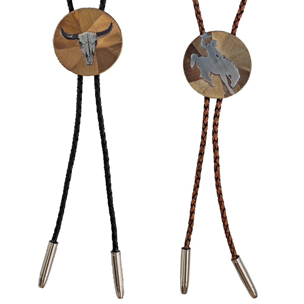 WESTERN BOLO TIE MADE IN USA