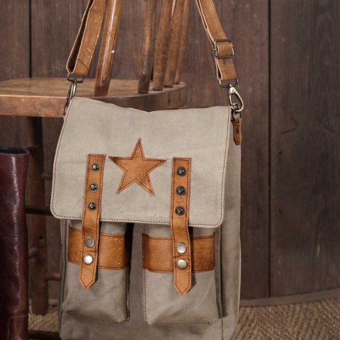 Star Saddlebag Shoulder Bag