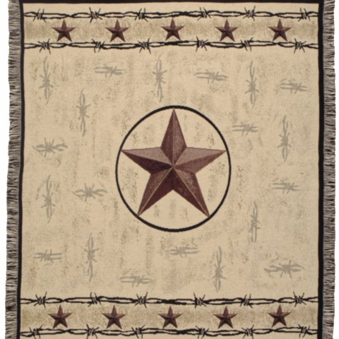 Tapestry Throw Star