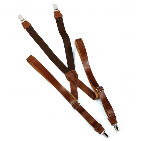 Leather Suspender USA