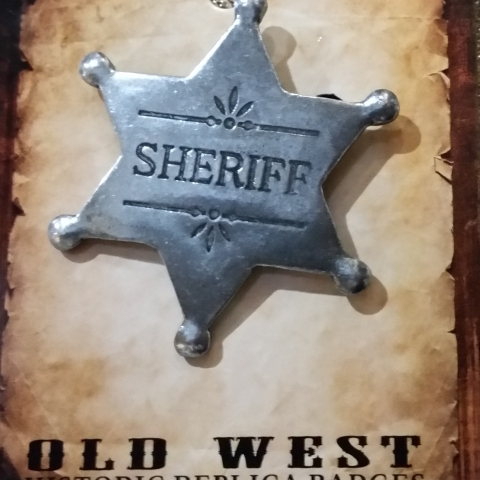 Western Sheriff Badge