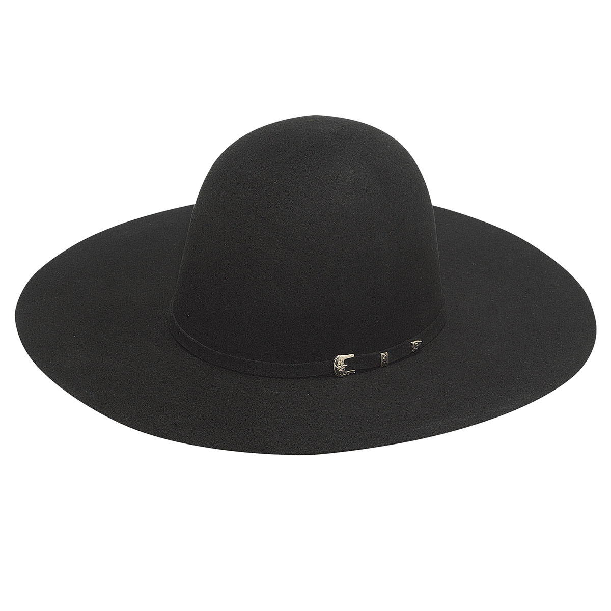 Open Crown Western Hat