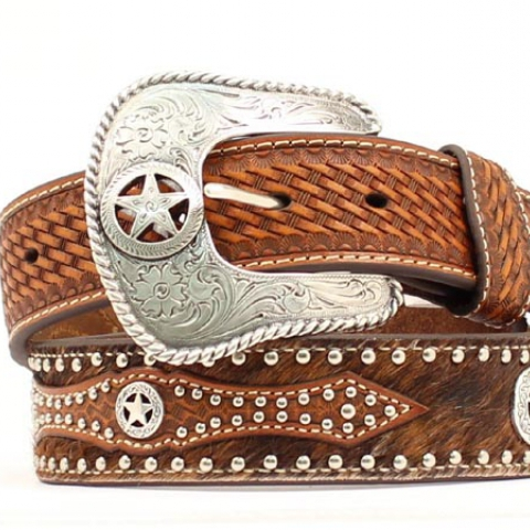 Texas Star Concho Belt