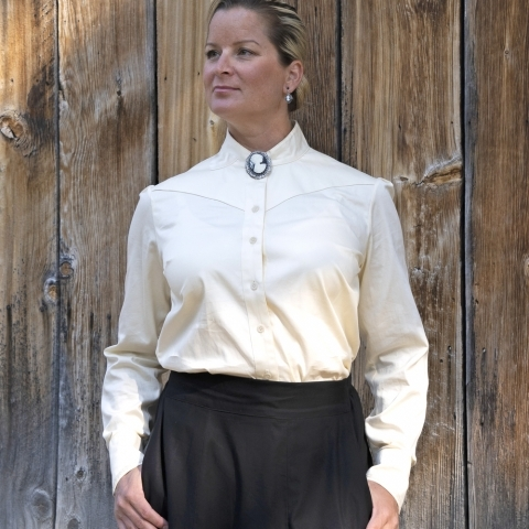 WESTERN VICTORIAN BLOUSE