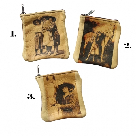 COWGIRL COIN PURSE