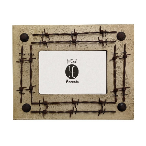 Barbwire Picture Frame