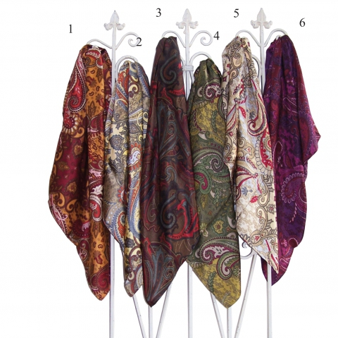 Western Paisley Scarves