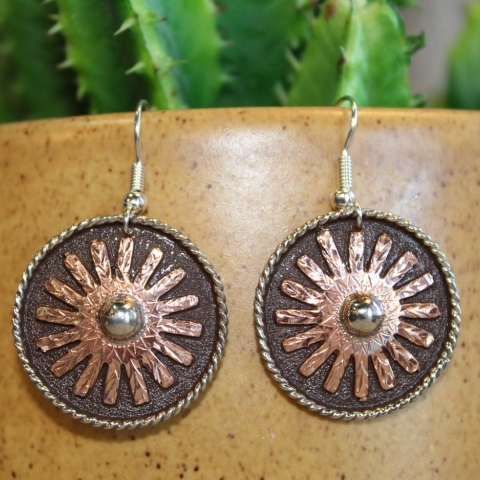 WESTERN ROWEL EARRINGS