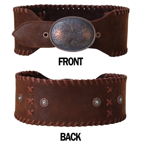 Wide Cowgirl belt