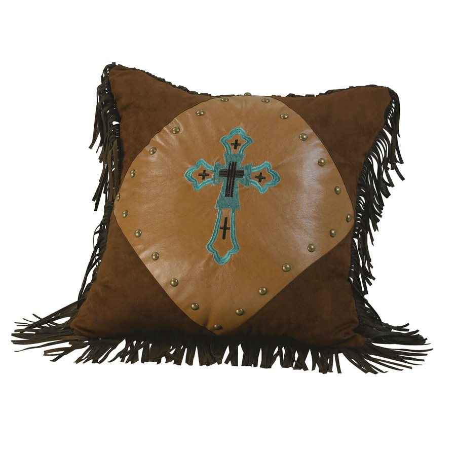 Western Cross Pillow