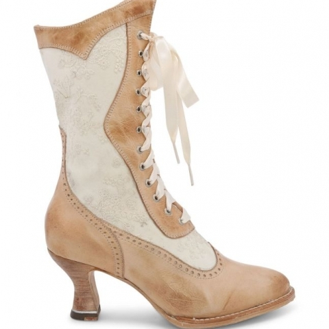LADIES OLD WEST LACE UP BOOT