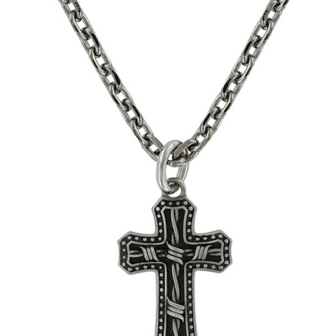 Cowboy Cross Necklace