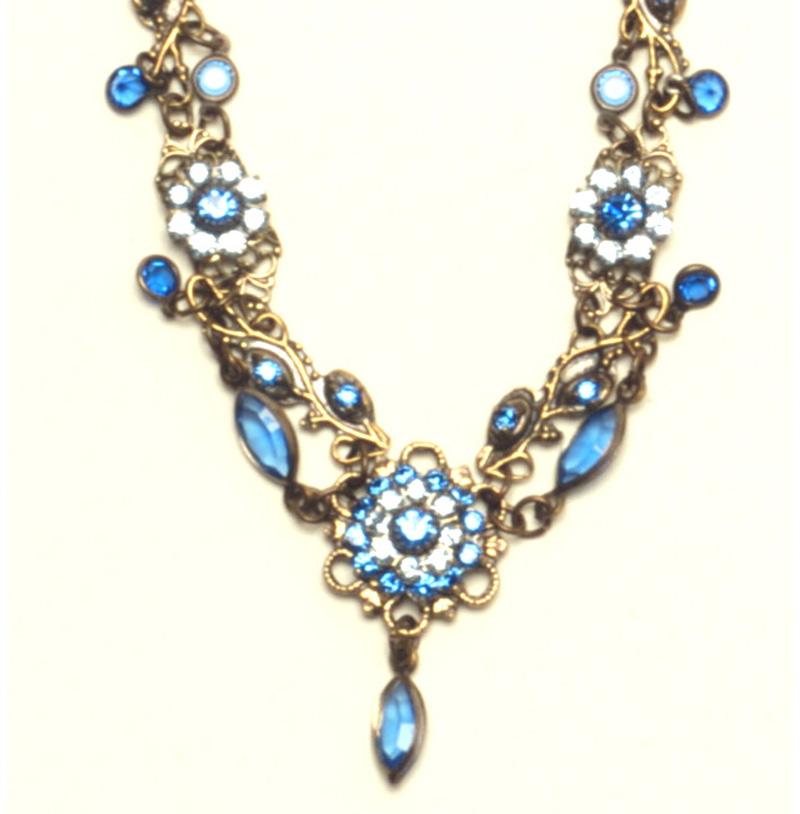 Sparkling Blue Necklace