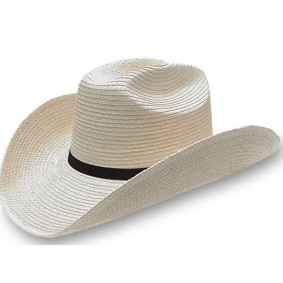 Palm Leaf Cattleman Hat